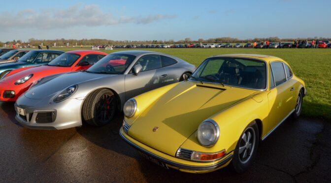 Porsche Club At Bicester Heritage – Sun 8th Dec 2019